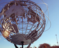 Unisphere at N.Y. World's Fair Grounds