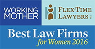 logos - Working Mothers, Flex-Time Lawyers