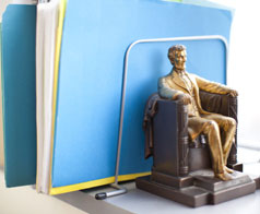 Lincoln Bookend